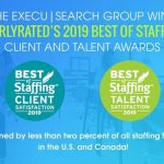 The Execu|Search Group Wins ClearlyRated's 2019 Best of Staffing Award